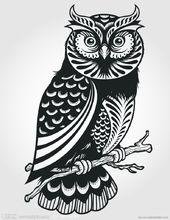 猫头鹰邮票